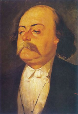 Retrato de Gustave Flaubert