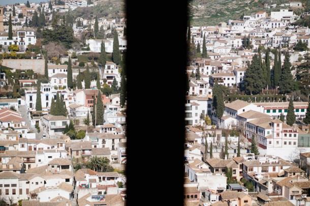 El barrio del Albaicín desde la Alhambra. Nacho Goberna © 2015