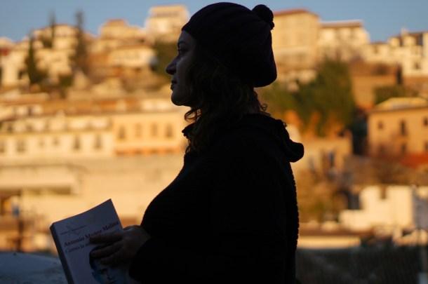 Emma Rodríguez y el barrio del Albaicín. Nacho Goberna © 2015
