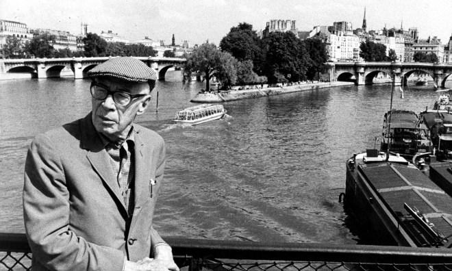 Henry Miller:. Foto de la Everett Collection. PARIS, FRANCE - 1960s.