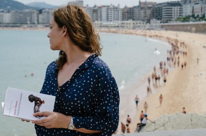 Emma Rodríguez en Donostia. Por Nacho Goberna © 2015