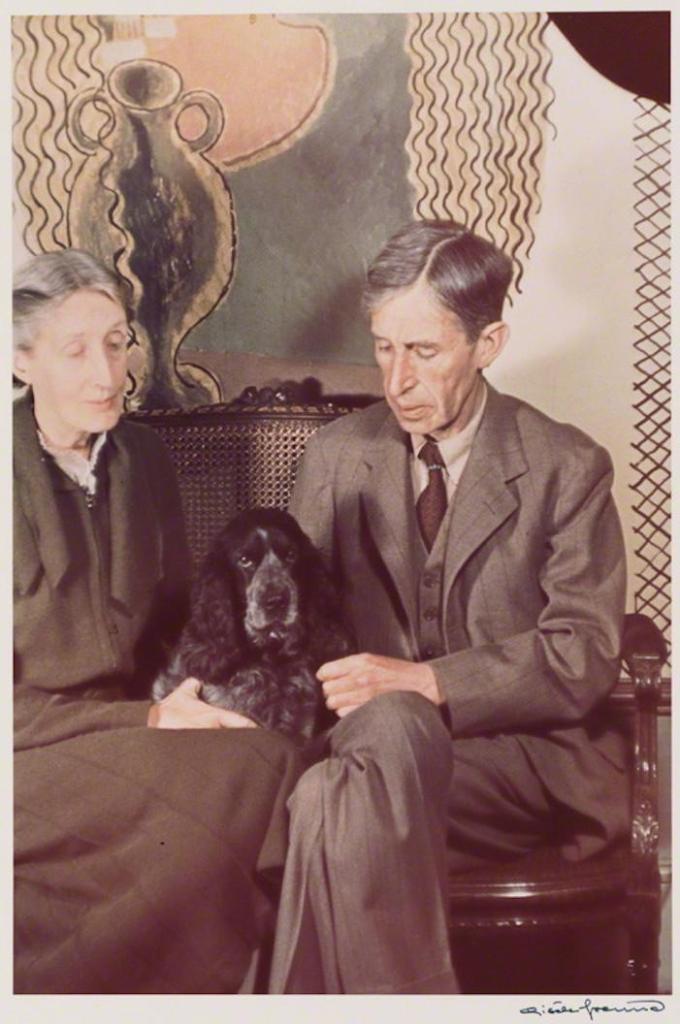 Virginia Woolf and Leonard Sidney Woolf, 1939 © Gisèle Freund