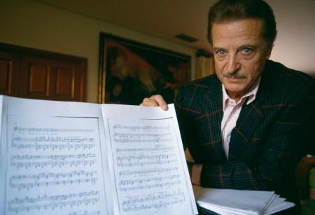 Spanish Opera Singer Alfredo Kraus