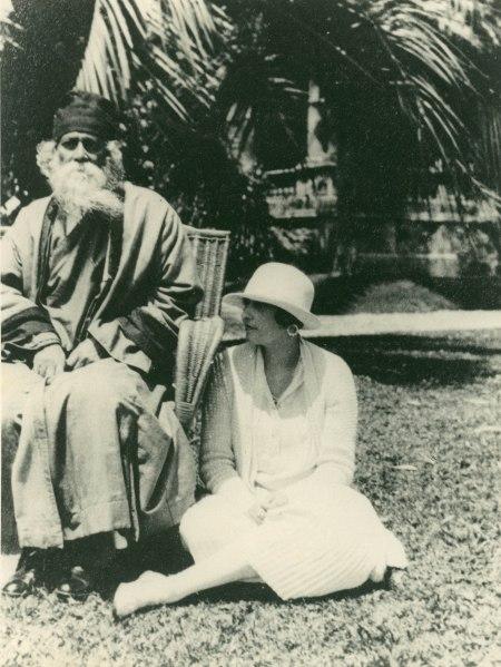 Victoria Ocampo con Tagore