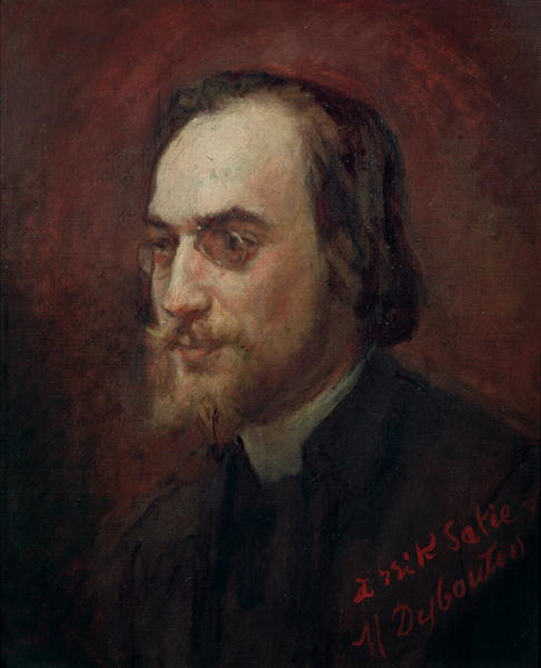 Retrato de Eric Satie pintado por Marcellin Desboutin