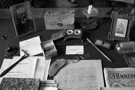 Objetos personales de Antón Chéjov en la Casa-museo que lleva su nombre