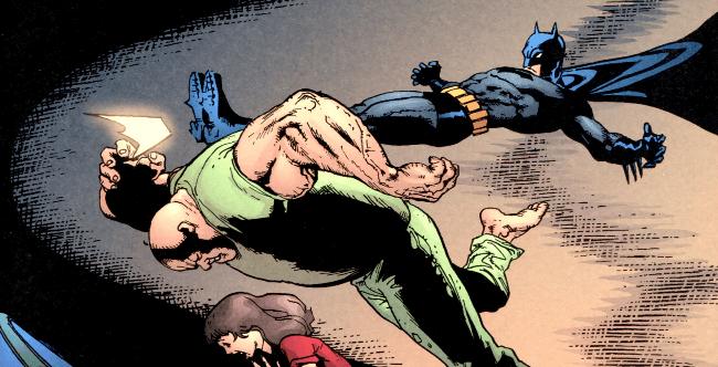 Batman traque les fous