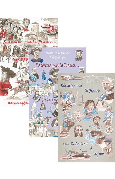 Racontez-moi la France… (3 tomes)