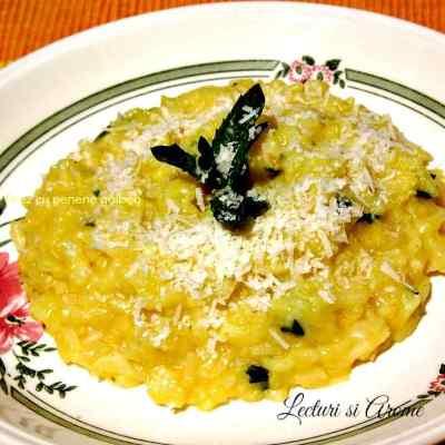 Orez in stil italian cu pepene galben