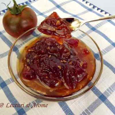 Dulceata de rosii cu cardamom