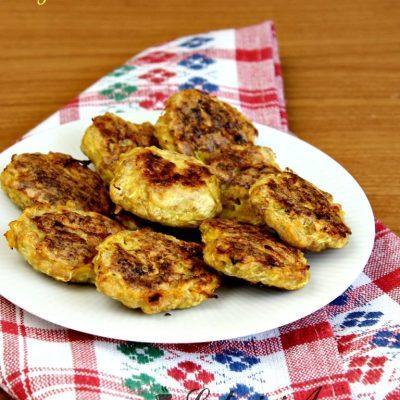 Chiftelute din carne de curcan si dovlecel (la cuptor)