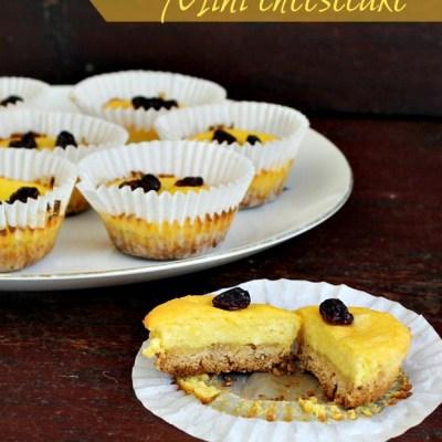 Mini cheesecake (cheesecake bites)