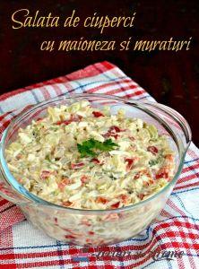 salata de ciuperci cu maioneza