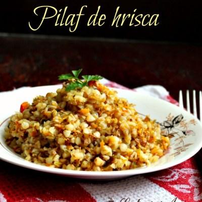 Pilaf de hrisca (reteta fara gluten)