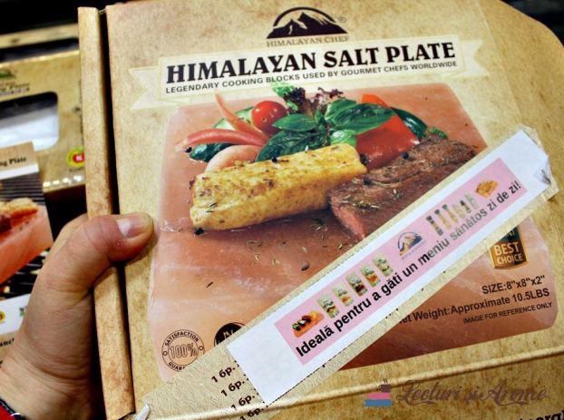 placa de sare Himalaya