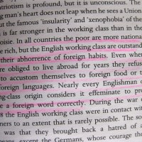 George Orwell on xenophobia