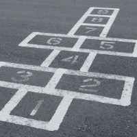 Pretty Good Word: hopscotch