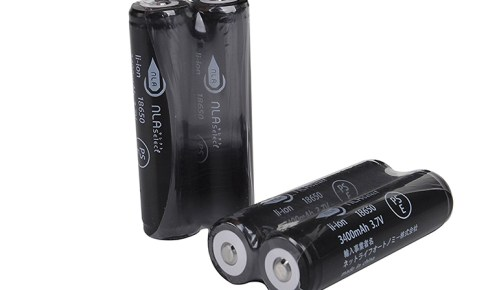 18650電池 3400mAh写真