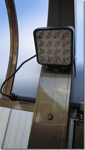 ガレージ作業灯 設置写真
