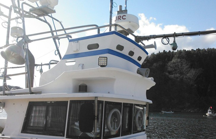 船舶led作業灯 設置
