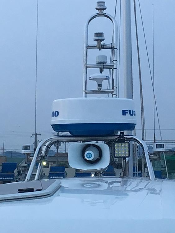 船舶・作業灯ステー設置事例
