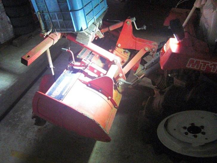 トラクター作業灯設置写真
