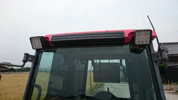 トラクター・48w作業灯設置事例