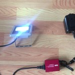 投光器・夜釣り使用時組立イメージ