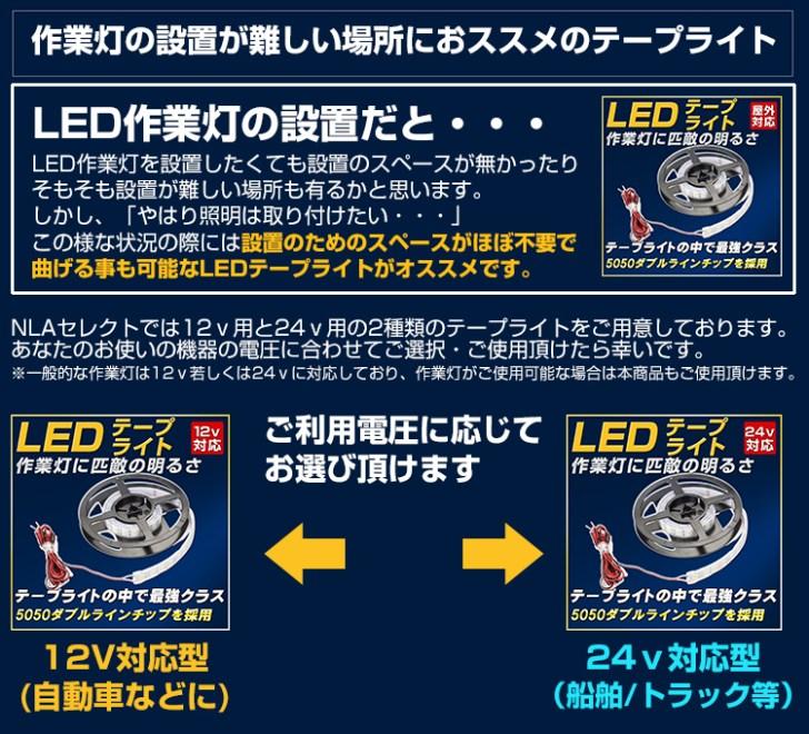 LEDテープライト 商品提案