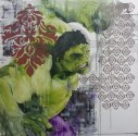 Hulk, 2016 Oil on Canvas, 100 x 100cm