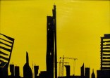 Milan Perspective 2, 2014 MIxed media 21cmx29.5cm