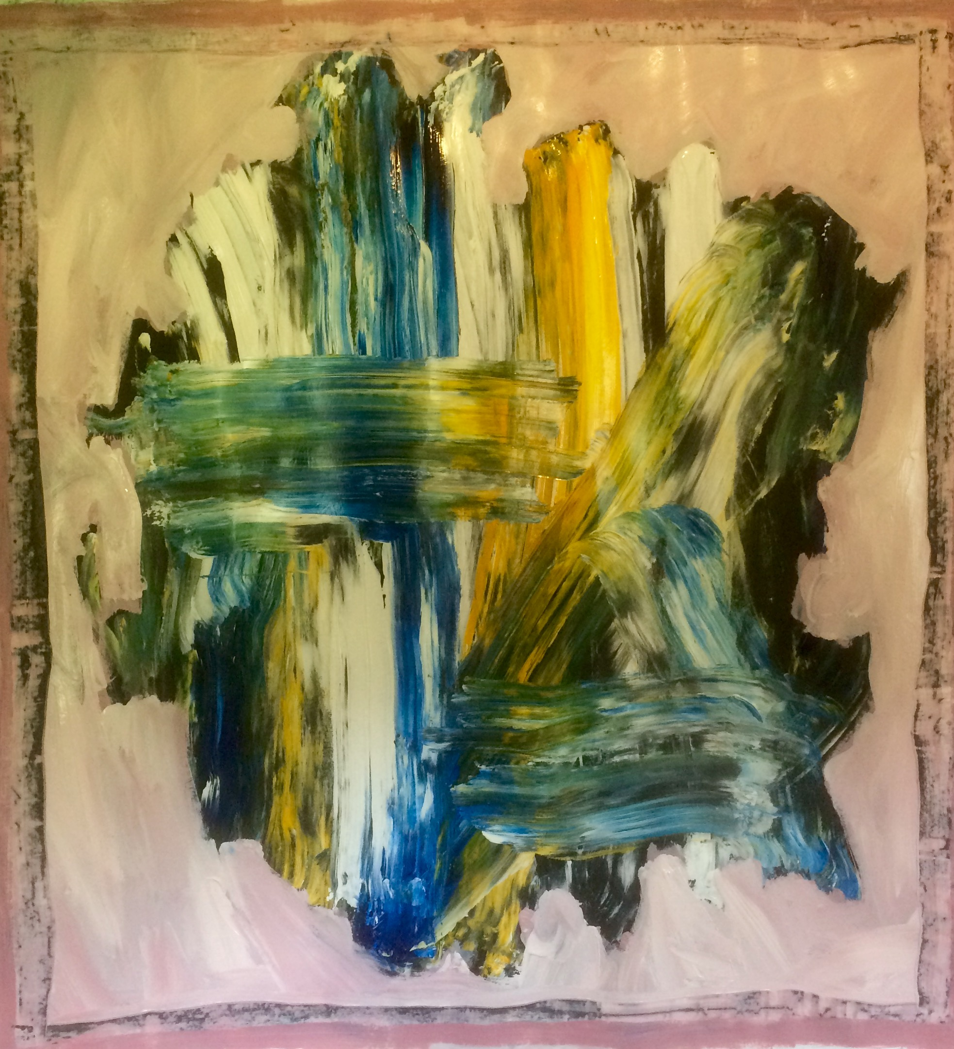 Untitled (Abstract Series 2017) by Martin R. Reed