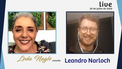 LEANDRO NARLOCH : NARRATIVAS, CANCELAMENTOS E INTERNET | LEDA NAGLE