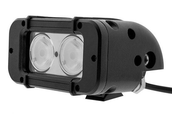 """Bara proiectoare LED Auto Offroad 20W/12V-24V, 1700 Lumeni, 4.6""""/12 cm, Spot Beam 12 Grade"""