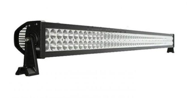 """Proiector Auto Offroad LED 288W/12V-24V, 21.100 Lumeni, 50""""/127 cm, Combo Beam 8/90 Grade, de calitate superioara special pentru vanatoare si autoturisme 4×4."""