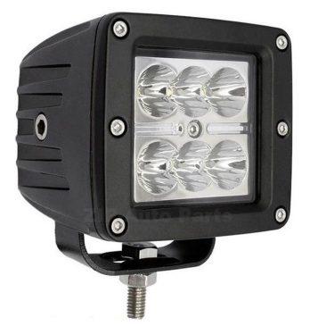 Proiector AutoPatrat Offroad 18W/12V-24V 1320 Lumeni Spot Beam 8 Grade