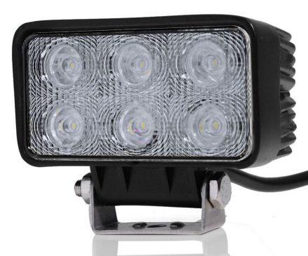 Proiector LEDAutoDreptunghiular Offroad 18W/12V-24V 1320 Lumeni Spot Beam 30 Grade