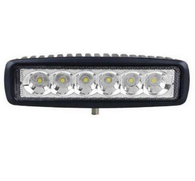 Proiector LED exterior Auto Offroad 18W/12V-24V 1320 Lumeni Lungime 16 cm Spot Beam 25 Grade