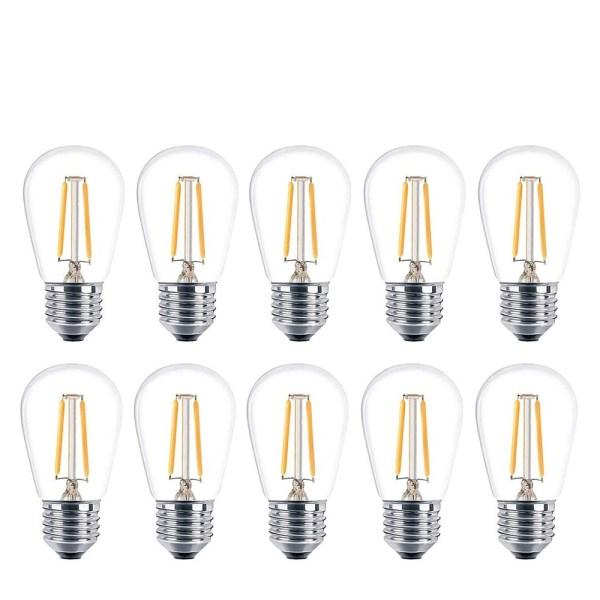 LED Edison Filament Bulb E27 2W 4 | LED Corner