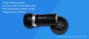 Video 2200 lumen + oplader