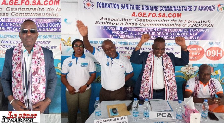 Santé-formation urbaine d'Andokoi : Bakayoko Abdoulaye reconduit pour de nouveaux défis avec un nouveau mandat ledebativoirien.net