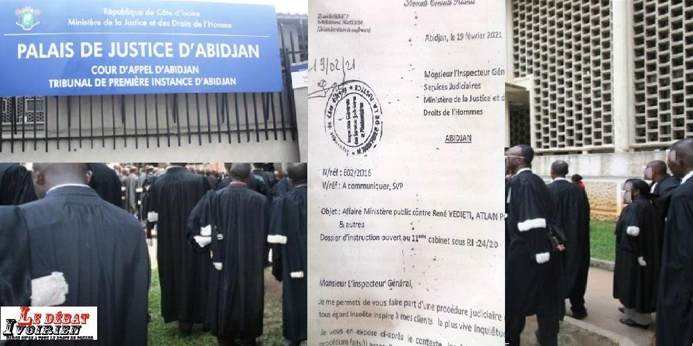misère de l'avocat au palais de justice ledebativoirien.net
