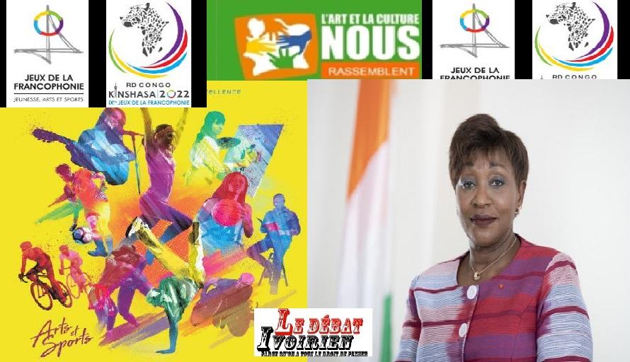 culture jeux de la francophonie en RDC LEDEBATIVOIRIEN.NET
