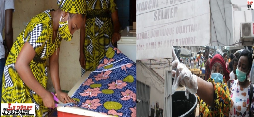 femmes africaines résistent au covid 19 LEDEBATIVOIRIEN.NET