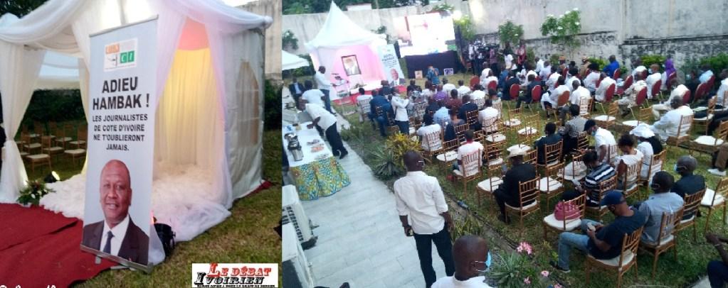 Abidjan :le monde de la presse et médias pleurent a rendu un vibrant hommage Hamed Bakayoko LEDEBATIVOIRIEN.NET
