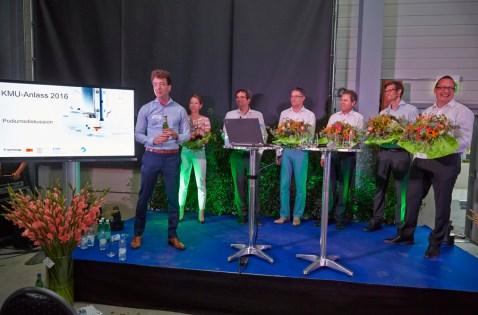 """KMU-Anlass 2016 """"Innovation"""": Schoop und Ledergerber & Partner"""