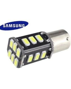 Autós led BA15S/Y canbus helyzetjelző, index, tolató lámpa