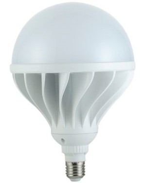 Led ipari körte égő 65W, 5900 lumen, 500W izzó helyett. E27, 165 mm, 4000K, közép fehér, nem vibrál a fénye! 3 év garancia!