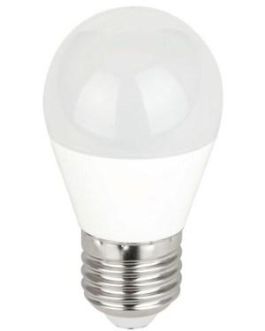 """Led körte égő meleg fehér 7W, 70W izzó helyett. 700 Lumen, 45 mm, 2700 kelvin """"az igazi meleg fény!"""". E27 foglalat. Nem vibrál a fénye! 3 év gar"""