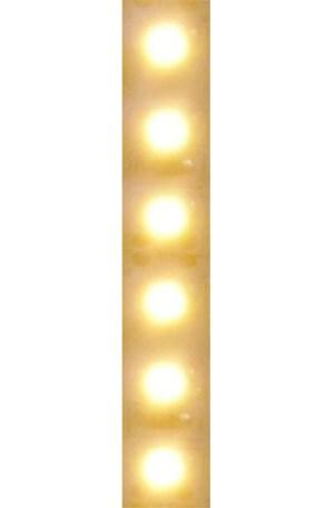 """Led szalag 2835 120led/m meleg fehér,960 Lumen, """"2700 Kelvin IGAZI MELEG FEHÉR"""", fehér nyák """"E"""" dupla fényerő! Kivitelezőknek"""